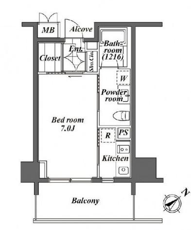 トレディレジデンシア恵比寿 / 4階 部屋画像1