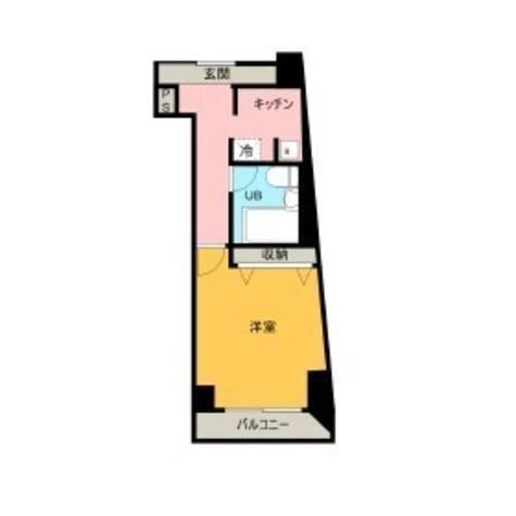 HF三田レジデンス(旧シングルレジデンス三田) / 501 部屋画像1
