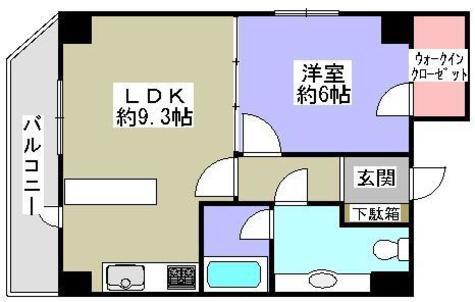 湯島 5分マンション / 9階 部屋画像1