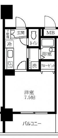 ツインバレー東神奈川 / 7階 部屋画像1
