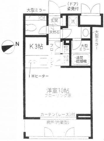 コンフォート白金台 / 202 部屋画像1