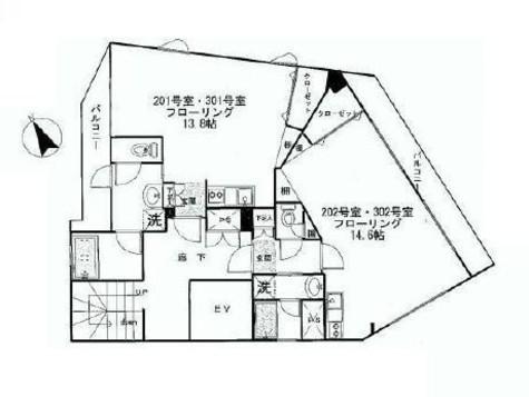 EBIS FLAT / 2階 部屋画像1