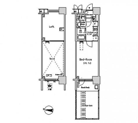 パークアクシス辰巳ステージ / 1階 部屋画像1