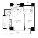 パークタワー芝浦ベイワード アーバンウイング / 401 部屋画像1
