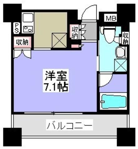 パークアクシス御茶ノ水ステージ / 7階 部屋画像1