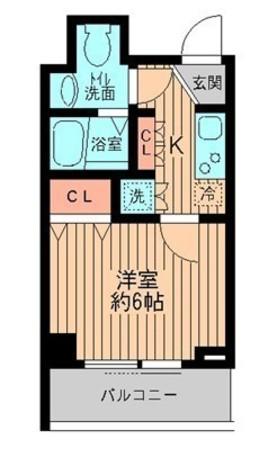 リバティヴ東神田 / 3階 部屋画像1