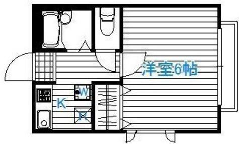 サンソシア笹塚 / 2階 部屋画像1