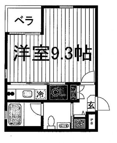 アリコート目黒 / 1階 部屋画像1