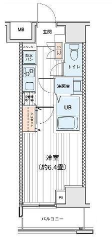 プリモレガーロ町田 / 1204 部屋画像1