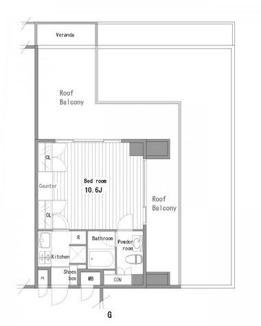 プラティーク清澄白河 / 6階 部屋画像1