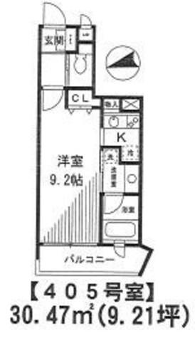 ヴィラドール用賀 / 2階 部屋画像1