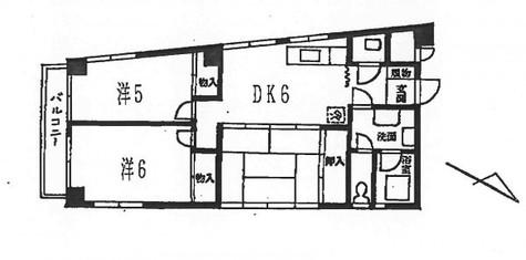 白金台フラッツ / 1 Floor 部屋画像1