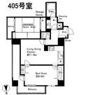 グレイスコート上野松が谷(旧:マツダコート) / 405 部屋画像1