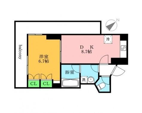 エオストル月島 / 2 Floor 部屋画像1
