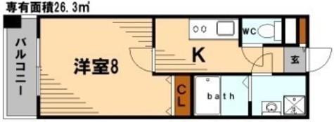 POWERHOUSE/TI / 7階 部屋画像1