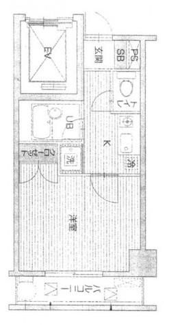 御茶ノ水 5分マンション / 3階 部屋画像1