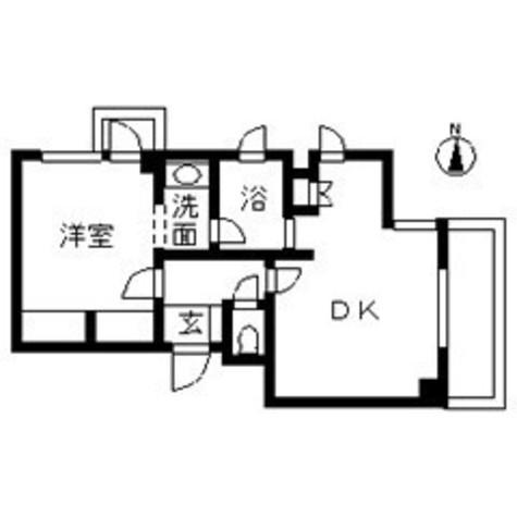 エルスタンザ中目黒 / 1階 部屋画像1