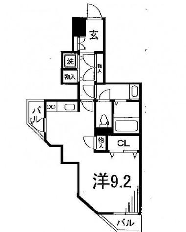 Crest本郷 / 7階 部屋画像1