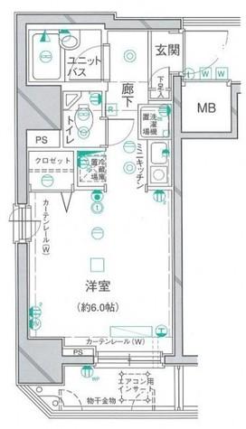 クレアシオン渋谷 / 704 部屋画像1