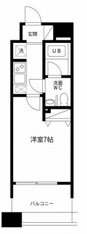 レジディア島津山(旧アルティス島津山) / 4階 部屋画像1