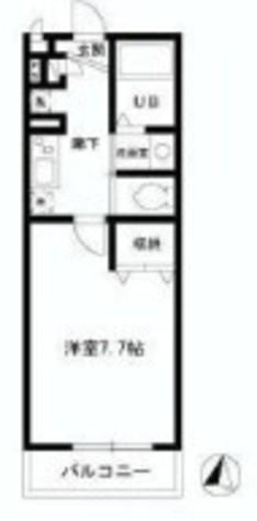 カーサメント幡ヶ谷 / 102 部屋画像1