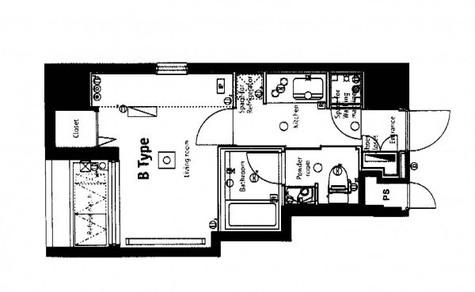 ブライズ神田 / 13階 部屋画像1