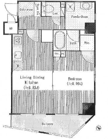 アクアアンビシャス八丁堀 / 10階 部屋画像1