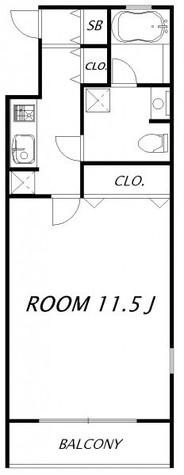 レジデンツァ フラッテルノ / 3階 部屋画像1
