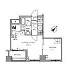 リベルテ月島 / 1階 部屋画像1