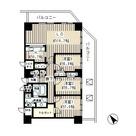 トレステージ目黒 / 1701 部屋画像1