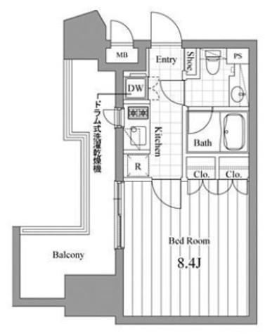 チェスターコート御茶ノ水 / 10階 部屋画像1