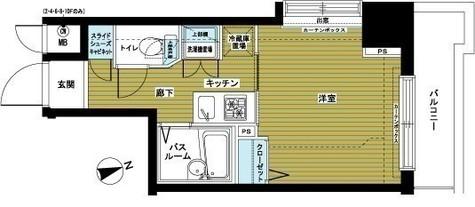 アヴァンティーク銀座東 / 3階 部屋画像1