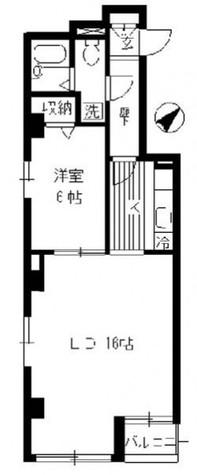 服部ビル / 2階 部屋画像1