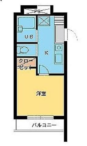 スカイコート麻布 / 4階 部屋画像1