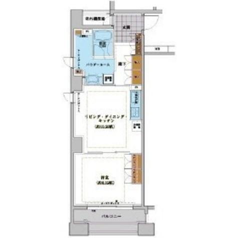 ネクステージレジデンス中央湊 / 306 部屋画像1