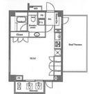ステラメゾン白金台(旧パシフィックリビュー白金台) / 504 部屋画像1