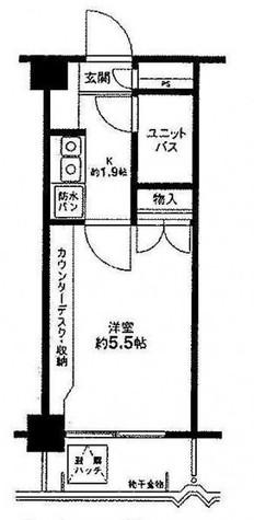 ジョイテル目黒 / 2階 部屋画像1
