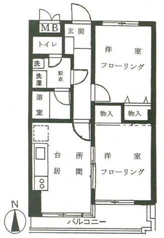 ユーレジデンス (奥沢3) / 302 部屋画像1