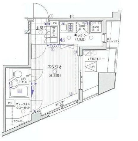 日神デュオステージ笹塚西館 / 13階 部屋画像1