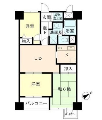 グランドメゾン田町 / 13階 部屋画像1