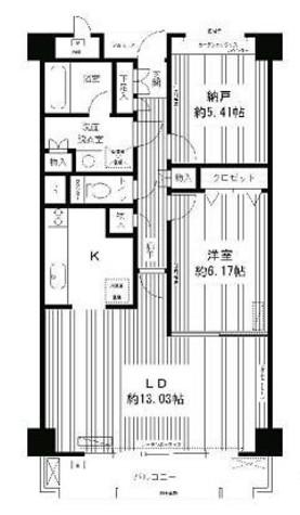 ラフィーネ本駒込 / 2階 部屋画像1