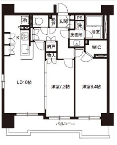レジディア御茶ノ水 / 15階 部屋画像1