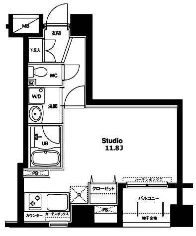 コンフォリア銀座EAST / 10階 部屋画像1