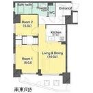 アパートメンツ若松河田 / 1102 部屋画像1