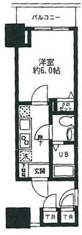 モーニングサイド銀座 / 304 部屋画像1