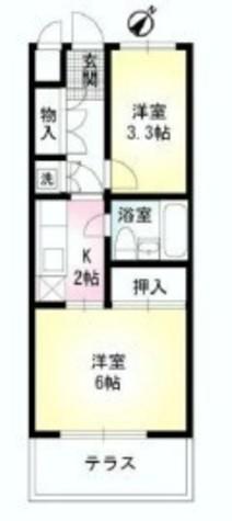 ピア幡ヶ谷 / 302 部屋画像1