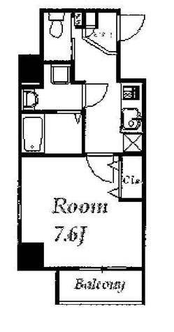 フェリーチェ蔵前 / 2階 部屋画像1