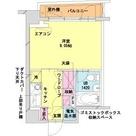 HF八丁堀レジデンスⅡ / 4階 部屋画像1