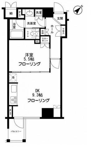 クオリア銀座 / 2 Floor 部屋画像1