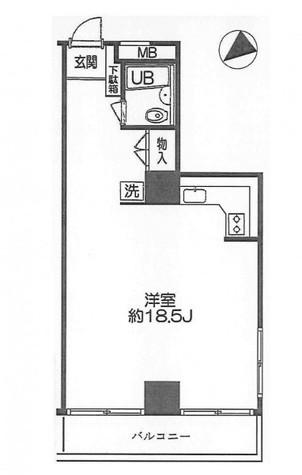 ストークベル浜松町 / 5階 部屋画像1